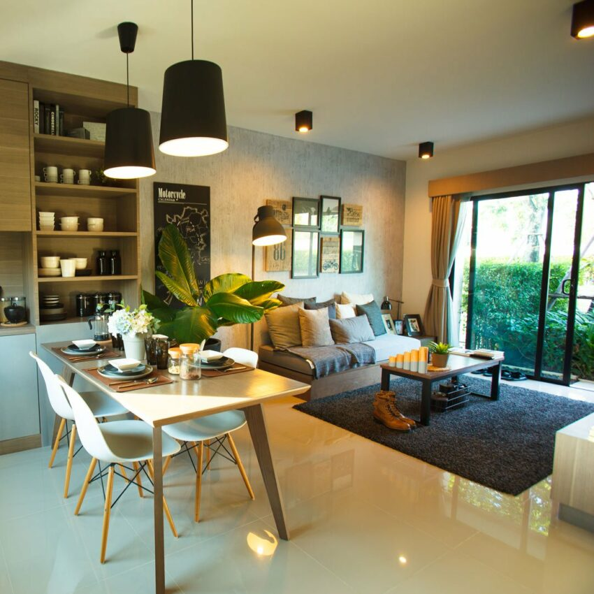 Townhome decoration